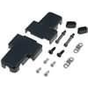 Kryt pro konektory D-Sub HD 15pin, D-sub 9pin trojitý