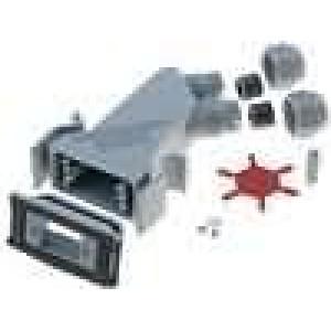Kryt pro konektory D-Sub HD 15pin, D-sub 9pin Variosub