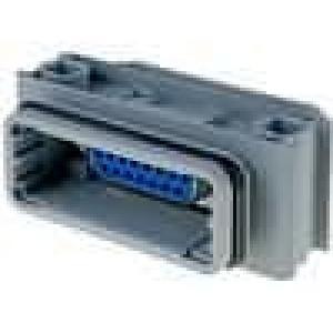 Přechod spojka Variosub D-Sub 15pin HD zásuvka, z obou stran