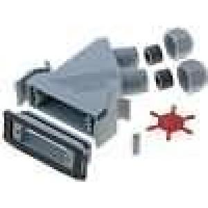 Kryt pro konektory D-Sub HD 44pin, D-sub 25pin Variosub