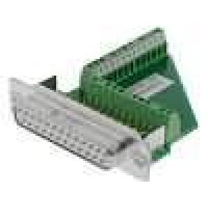 Zástrčka D-Sub Variosub PIN:25 zásuvka šroubová svorka 5A
