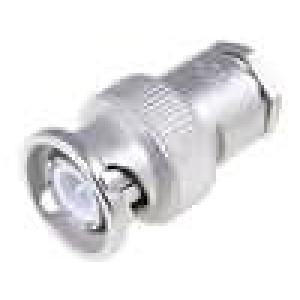 Zástrčka BNC vidlice přímý 75Ω RG59 šroubovací (clamp)