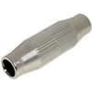 Spojka stíněný přímý šroubová svorka na kabel 7mm