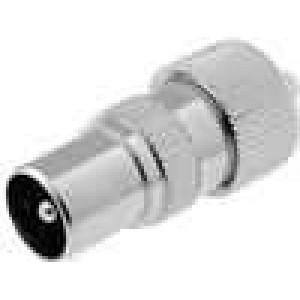 Zástrčka koaxiální 9,5mm (IEC 169-2) vidlice přímý na kabel