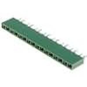 Zásuvka kolíkové HV-100 zásuvka 16 PIN přímý 2,54mm THT 1x16