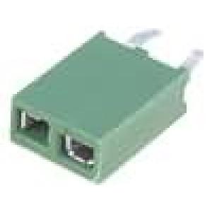 Zásuvka kolíkové HV-100 zásuvka PIN:2 přímý 2,54mm THT 1x2