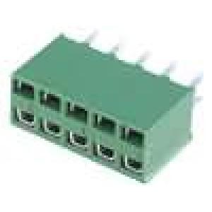Zásuvka kolíkové HV-100 zásuvka 10 PIN přímý 2,54mm THT 2x5