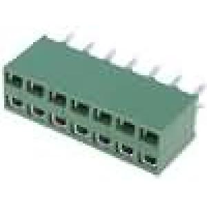Zásuvka kolíkové HV-100 zásuvka 14PIN přímý 2,54mm THT 2x7