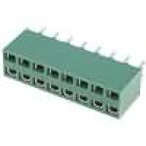 Zásuvka kolíkové HV-100 zásuvka 16 PIN přímý 2,54mm THT 2x8