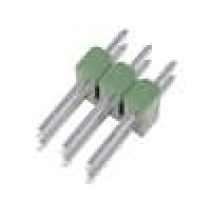 Kolíková lišta kolíkové AMPMODU MOD II vidlice PIN:6 přímý