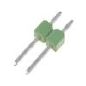Kolíková lišta kolíkové AMPMODU MOD II vidlice PIN:2 přímý