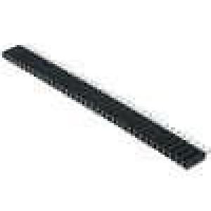 Zásuvka kolíkové zásuvka PIN:36 přímý 2,54mm THT 1x36 H:8mm