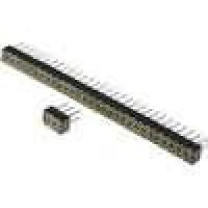 Zásuvka kolíkové zásuvka PIN:20 přímý 2mm THT 2x10