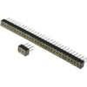 Zásuvka kolíkové zásuvka PIN:60 přímý 2mm THT 2x30