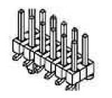 Kolíková lišta kolíkové Milli-Grid vidlice PIN:12 2mm SMT