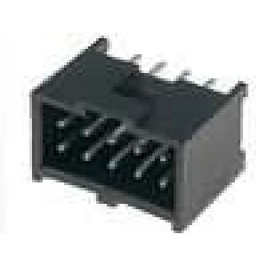 Zásuvka kolíkové C-Grid III vidlice 10 PIN přímý 2,54mm THT