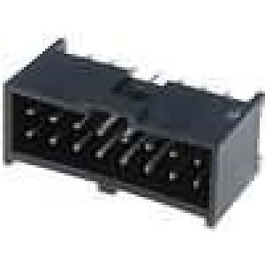 Zásuvka kolíkové C-Grid III vidlice 16 PIN přímý 2,54mm THT