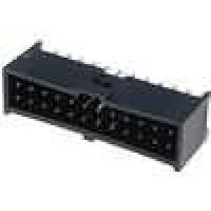 Zásuvka kolíkové C-Grid III vidlice PIN:24 přímý 2,54mm THT