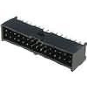 Zásuvka kolíkové C-Grid III vidlice PIN:30 přímý 2,54mm THT