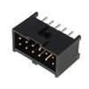 Zásuvka kolíkové C-Grid III vidlice PIN:12 přímý 2,54mm THT