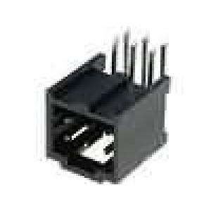 Zásuvka kolíkové C-Grid III vidlice PIN:6 úhlové 90° 2,54mm