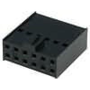 Zástrčka kolíkové C-Grid III zásuvka PIN:12 bez kontaktů