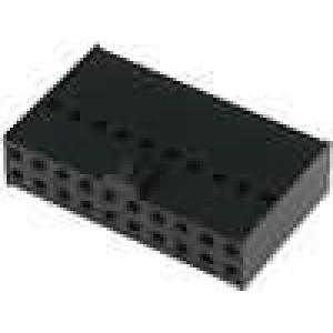 Zástrčka kolíkové C-Grid III zásuvka PIN:20 bez kontaktů