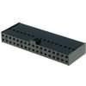 Zástrčka kolíkové zásuvka PIN:34 přímý 2,54mm na kabel 2x17