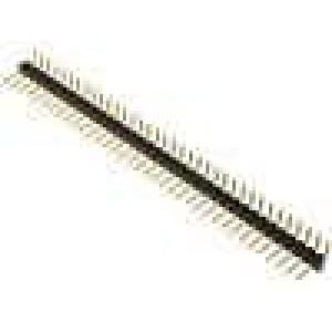 Kolíková lišta kolíkové vidlice PIN:36 úhlové 90° 2,54mm THT