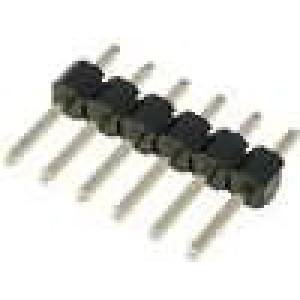 Kolíková lišta kolíkové vidlice PIN:6 přímý 2,54mm THT 1x6