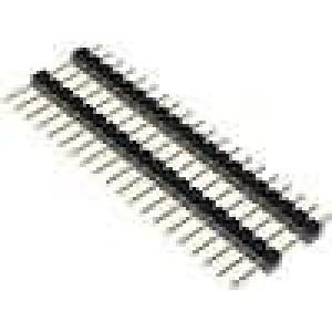 Kolíková lišta kolíkové vidlice PIN:20 patrové přímý 2,54mm