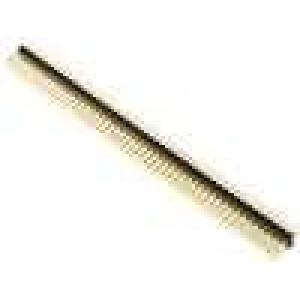 Kolíková lišta kolíkové vidlice PIN:100 přímý 2,54mm THT