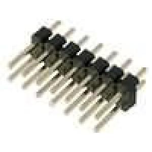 Kolíková lišta kolíkové vidlice 14PIN přímý 2,54mm THT 2x7
