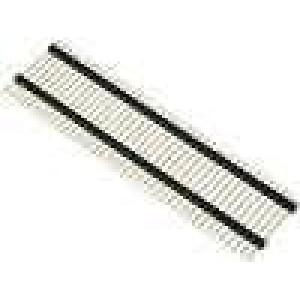 Kolíková lišta kolíkové vidlice PIN:40 patrové přímý 2,54mm