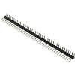 Kolíková lišta kolíkové vidlice PIN:40 úhlové 90° 2,54mm THT