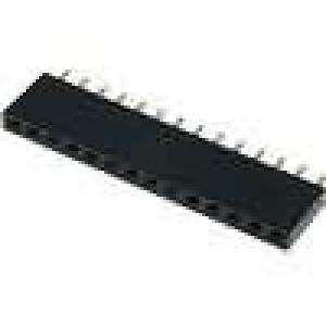 Zásuvka kolíkové zásuvka 14PIN přímý 2,54mm THT 1x14 3A