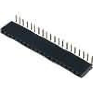 Zásuvka kolíkové zásuvka PIN:20 úhlové 90° 2,54mm THT 1x20