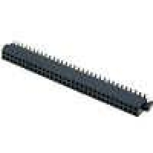 Zásuvka kolíkové zásuvka PIN:60 svislý 1,27mm SMT 2x30