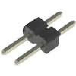 Kolíková lišta kolíkové vidlice PIN:2 přímý 2mm THT 1x2