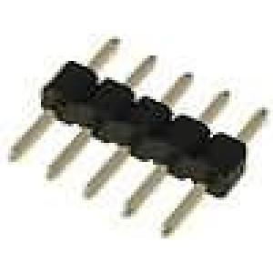 Kolíková lišta kolíkové vidlice 5 PIN přímý 2mm THT 1x5