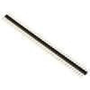 Kolíková lišta kolíkové vidlice PIN:40 přímý 2mm THT 1x40