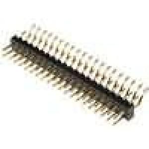 Kolíková lišta kolíkové vidlice PIN:40 vodorovné 2mm SMT