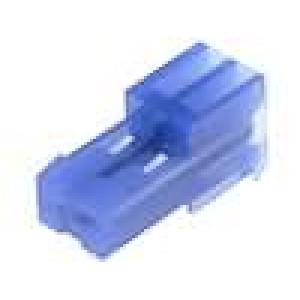 Konektor kabel-pl.spoj řada MTA-100 zásuvka zástrčka 2PIN