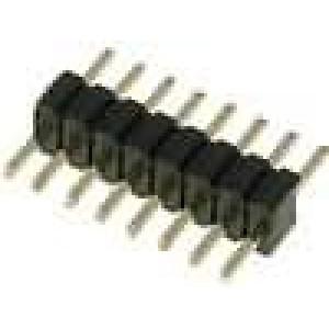 Kolíková lišta kolíkové vidlice 8 PIN přímý 1,27mm THT 1x8