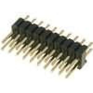 Kolíková lišta kolíkové vidlice PIN:20 přímý 1,27mm THT 2x10