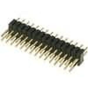 Kolíková lišta kolíkové vidlice PIN:30 přímý 1,27mm THT 2x15