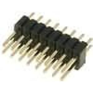 Kolíková lišta kolíkové vidlice 16 PIN přímý 1,27mm THT 2x8