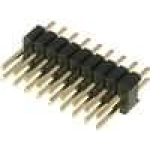 Kolíková lišta kolíkové vidlice PIN:19 přímý 1,27mm THT 2x9