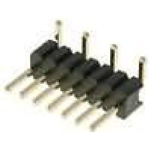 Kolíková lišta kolíkové vidlice 7 PIN svislý 1,27mm SMT 1x7