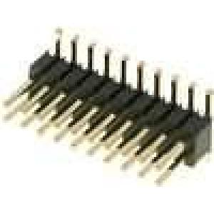 Kolíková lišta kolíkové vidlice PIN:20 svislý 1,27mm SMT